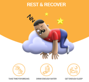 rest and recover